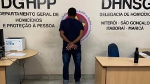 Suspeito de assassinar o filho de ex-prefeito de Maricá é preso