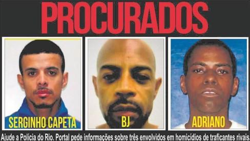 Facção do Rio contrata matadores na Serra Fluminense