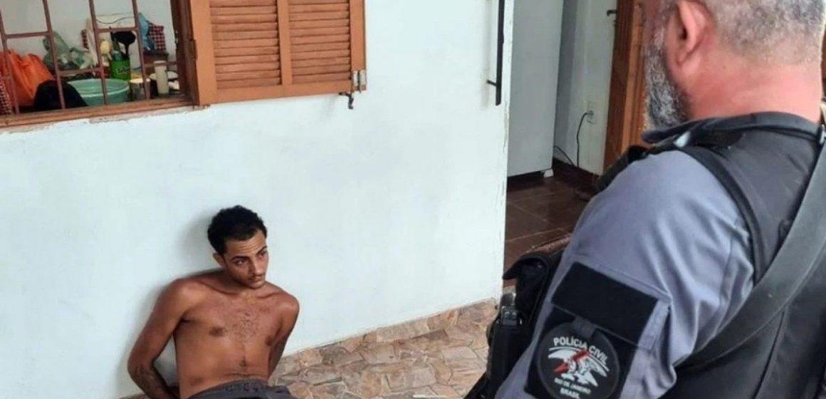 Polícia Civil do Rio prende um dos maiores assaltantes a bancos da atualidade.