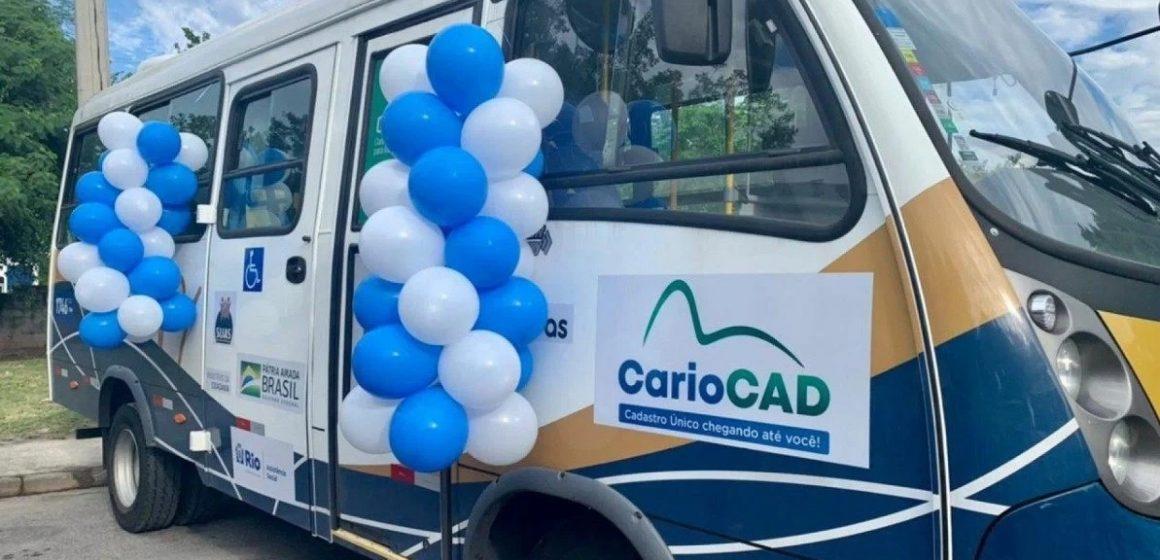 CarioCAD vai percorrer o Rio para completar o cadastro de famílias vulneráveis