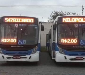 Alô Detro!;Sem fiscalização, empresa retira ônibus de circulação em Nilópolis