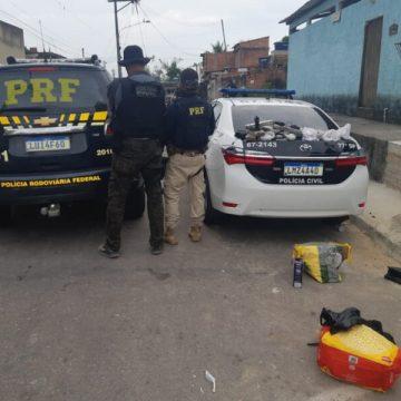 Nove pessoas são presas durante ação contra traficantes e ladrões de carga em São Gonçalo