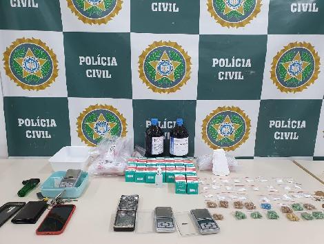Integrantes de quadrilha de tráfico de drogas delivery na Zona Sul são presos
