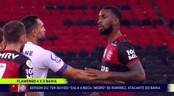 Polícia Civil indicia jogador de futebol do Bahia por injúria racial contra atleta do Flamengo