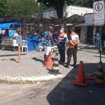 Agentes da Prefeitura de Nova Iguaçu emitiram 25 autos de embargos em festas clandestinas no carnaval