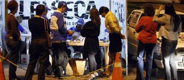 Projeto na Alerj quer teste de drogas em blitz de trânsito no Rio