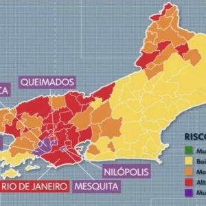 """ALERTA:""""Cinco municípios do Grande Rio entram em risco muito alto para Covid-19"""""""