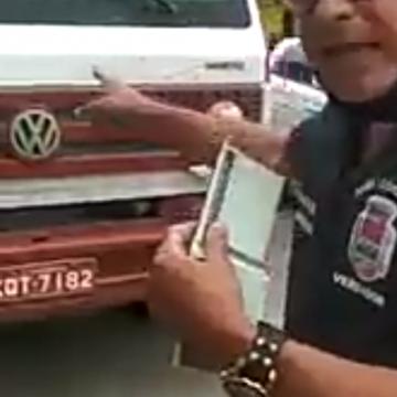 Fiscal do Povo:'Vereador de São Gonçalo manda veículo de reboque ser rebocado?'