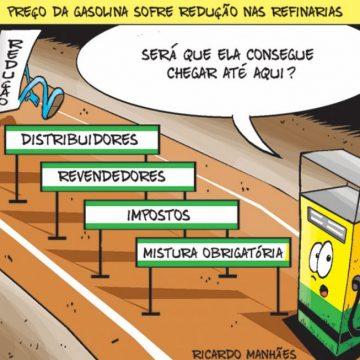 Boa Noticia:'Petrobras reduz preço da gasolina pela primeira vez no ano'
