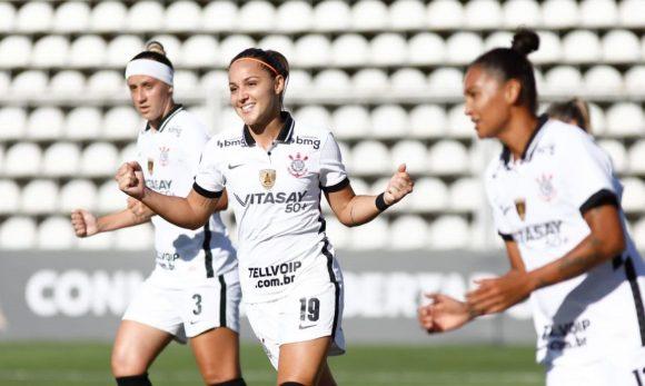 Corinthians aplica maior goleada da história da Libertadores Feminina