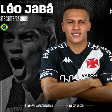 Vasco anuncia atacante Léo Jabá, quarto reforço do clube para 2021