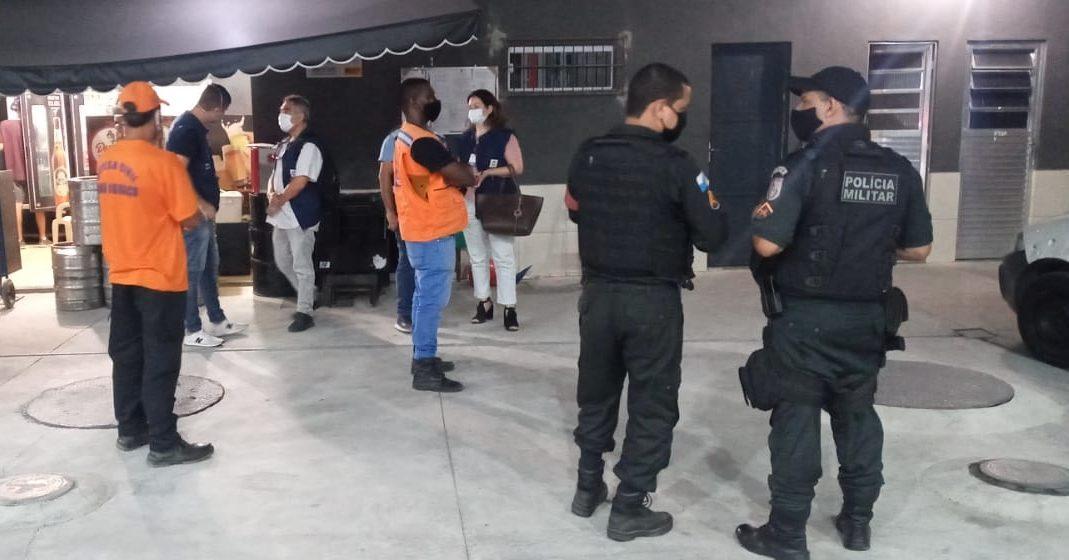 Nova Iguaçu Fiscaliza Comércio Para Cumprimento De Medidas Restritivas