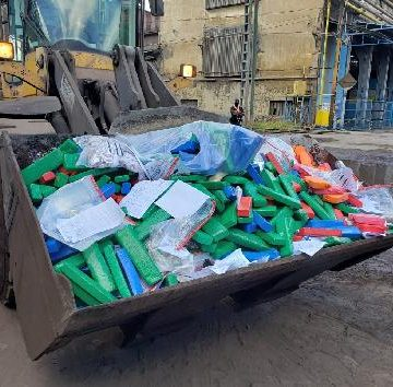 Polícia Civil destrói cerca de 900 quilos de entorpecentes apreendidos
