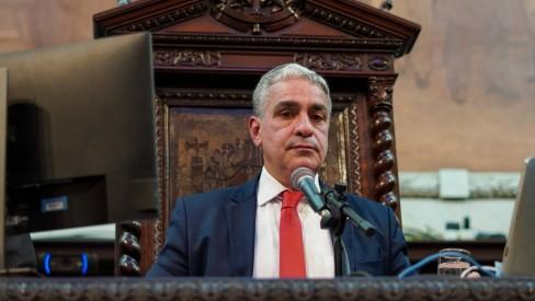 Presidente da Assembleia do Rio denuncia ameaças por causa de projeto que suspende a concessão da Cedae