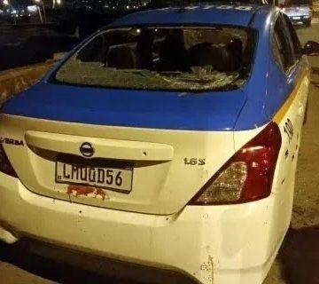 PM morre após ter viatura metralhada em via expressa do Rio