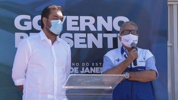 RJ:Gov Cláudio Castro inaugura Hospital Modular de Nova Iguaçu