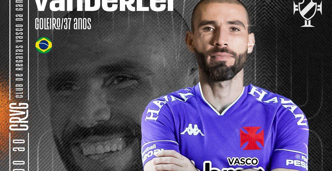Vasco anuncia contratação do goleiro Vanderlei, ex-Grêmio e Santos