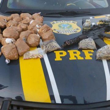 """RODOU:""""PRF prende homem com drogas na Via Dutra"""""""