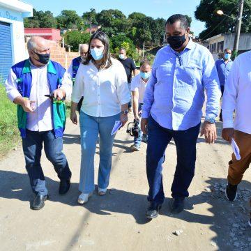 Prefeitura de Japeri e DER realizam visita técnica para dar início a obras de drenagem e pavimentação de ruas