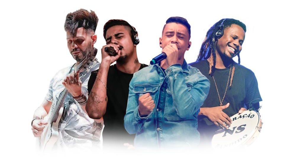Grupo Nosso Sentimento faz show ao vivo na FM O Dia