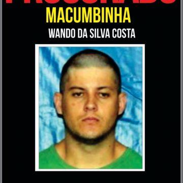 Portal dos Procurados busca informações sobre criminoso que vem 'causando terror' na Região Serrana