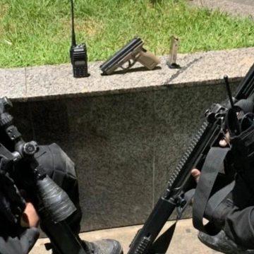 PM apreende pistola e bandido é morto após confronto em Belford Roxo