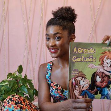 Atriz Simone Zucato e vários famosos se unem para incentivar leitura infantil online!