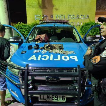 Traficante comédia rodou no bairro Palhada em Nova Iguaçu; Ação da 3a Cia.