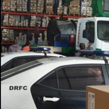 Polícia desarticula quadrilha especializada em roubo de carga de metais