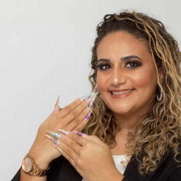 Bruna Queiroz a design de unhas numero 1° será homenageada em concurso
