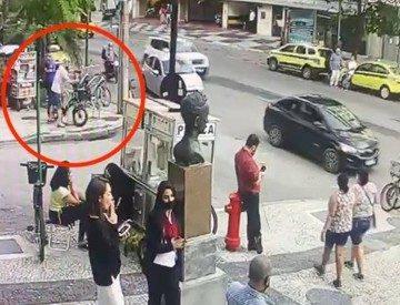 Racismo no Leblon: Polícia prende, em Botafogo, suspeito de furtar bicicleta do casal que acusou jovem negro