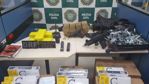 Polícia Civil e Ministério Público fazem operação contra traficantes do Complexo da Mangueirinha, em Caxias