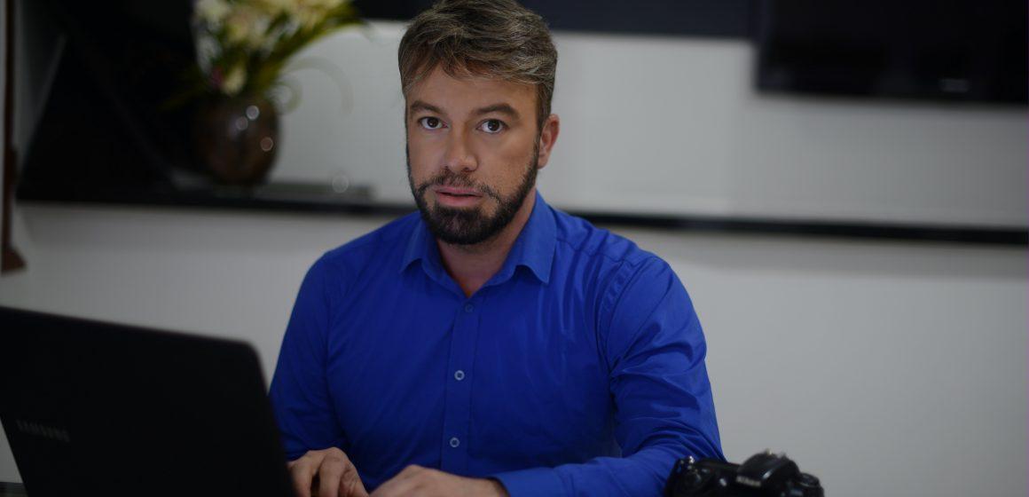 Produtor Daniel Mattos prepara novo projeto de gerenciamento de mídia sócias