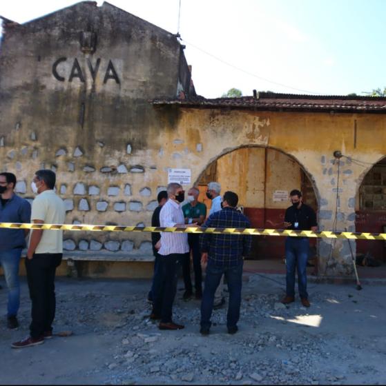 Secretaria de Ordem Urbana de Nova Iguaçu faz intervenção  em patrimônios históricos da cidade