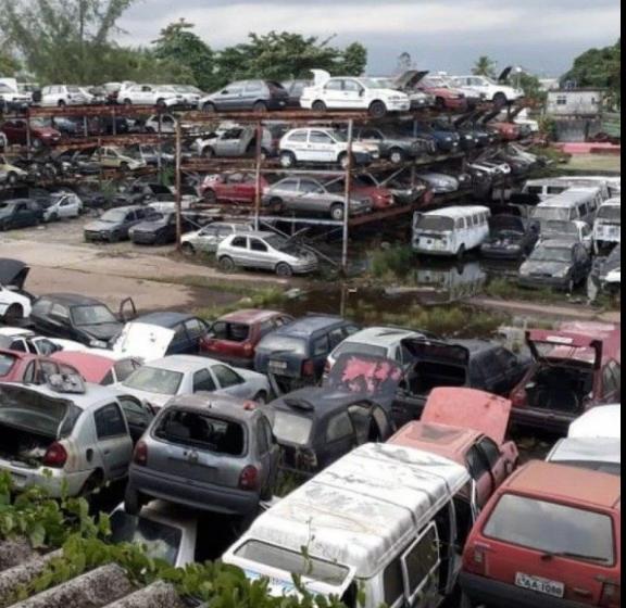"""É hoje:""""Meriti promove leilão online de carros e sucatas apreendidos há mais de 5 anos"""""""