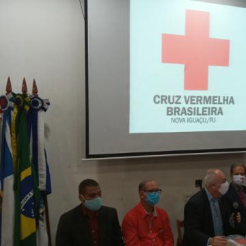 Café Social da Cruz Vermelha Filial Nova Iguaçu reúne todas as terças a sociedade fluminense