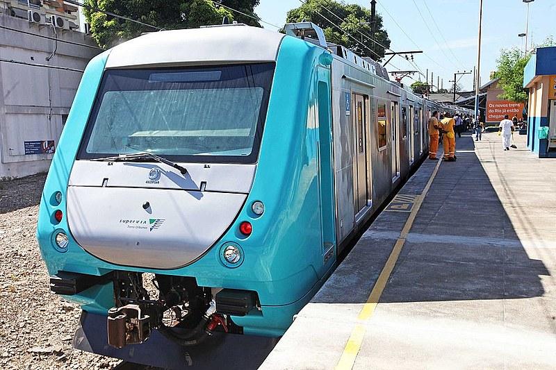 Tarifa dos trens da SuperVia continua em R$ 5