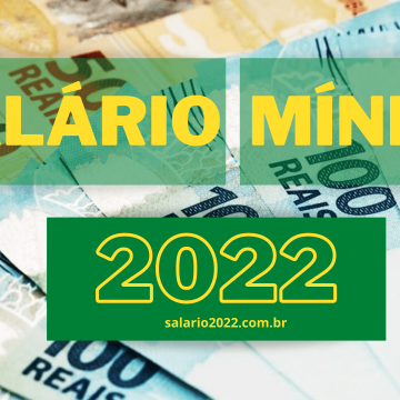 Novo salário mínimo para 2022 será de R$ 1.147, informa Ministério da Economia