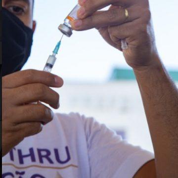Segunda dose de vacina contra covid-19 nesta sexta-feira