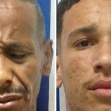 Moradores de rua são presos suspeitos de roubarem telefones celulares de duas idosas na Baixada Fluminense