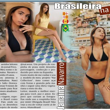 Brasileira na Espanha