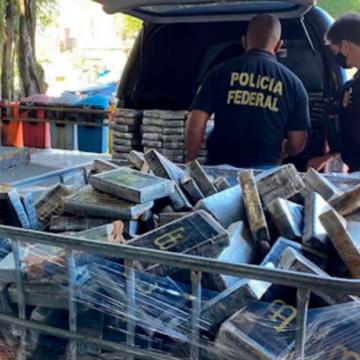 PF de Nova Iguaçu incinera mais de 600 kg de cocaína apreendida no RJ