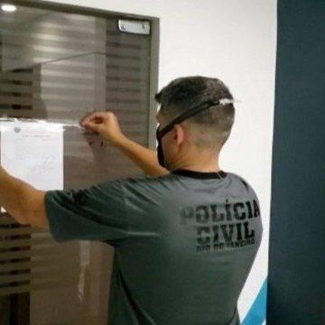 Nove pessoas são presas acusadas de aplicarem golpe de até R$ 200 mil e empresa é interditada