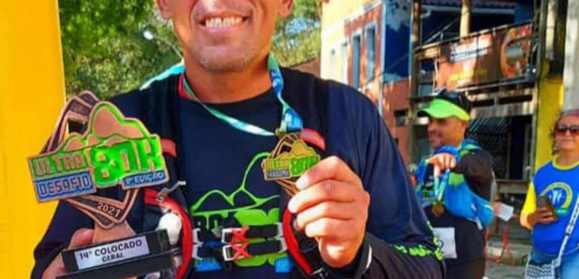 Sargento da PM de Belford Roxo corre 80km em Ultra Desafio de Montanhas