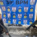 PM impede colocação de barricadas em Belford Roxo e apreende armas, granada e drogas
