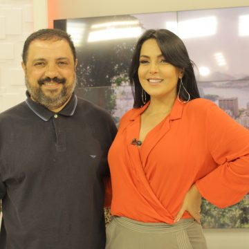 Projeto Asa Nasal de Divas na BAND no programa de Guardenia Cavalcanti