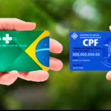 Único documento para o atendimento no SUS é o CPF