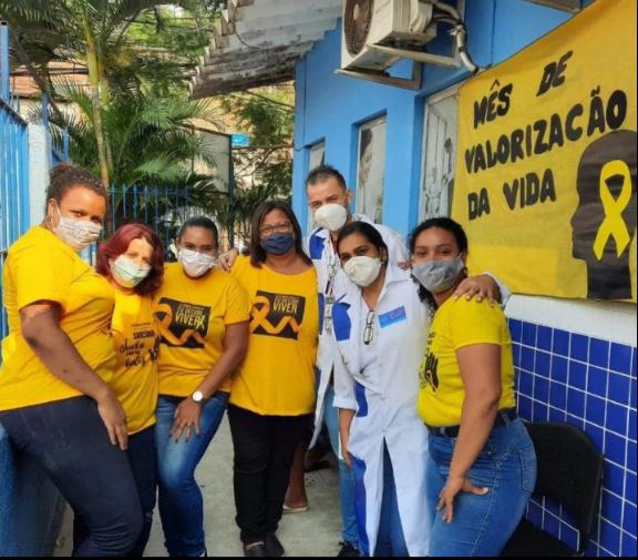 """BAIXADA:""""Saúde de Meriti promove atividades em referência ao Setembro Amarelo"""""""