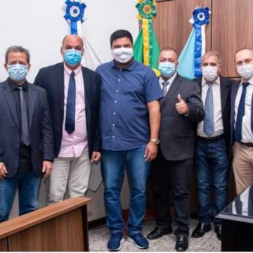 Câmara de Nova Iguaçu recebe visita de subsecretário estadual de Obras e Infraestrutura
