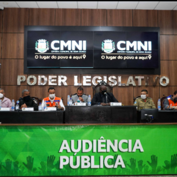 Poder público e sociedade civil participam de fórum sobre segurança pública na Câmara de Nova Iguaçu